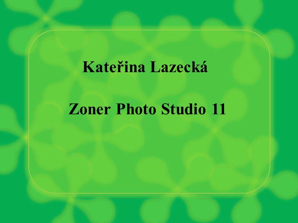 Kateřina Lazecká Zoner Photo Studio 11