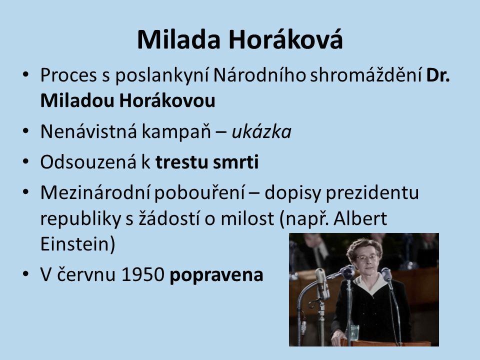 Příprava procesů přiznání Dr.Horákové celá řeč přiznání Dr.