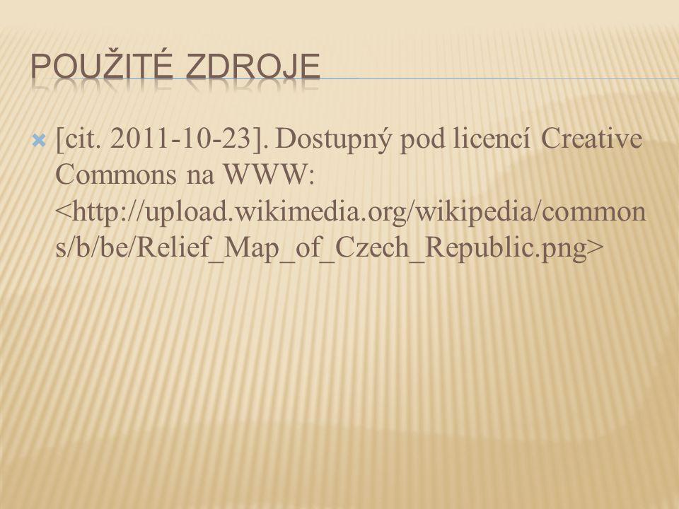  [cit. 2011-10-23]. Dostupný pod licencí Creative Commons na WWW: