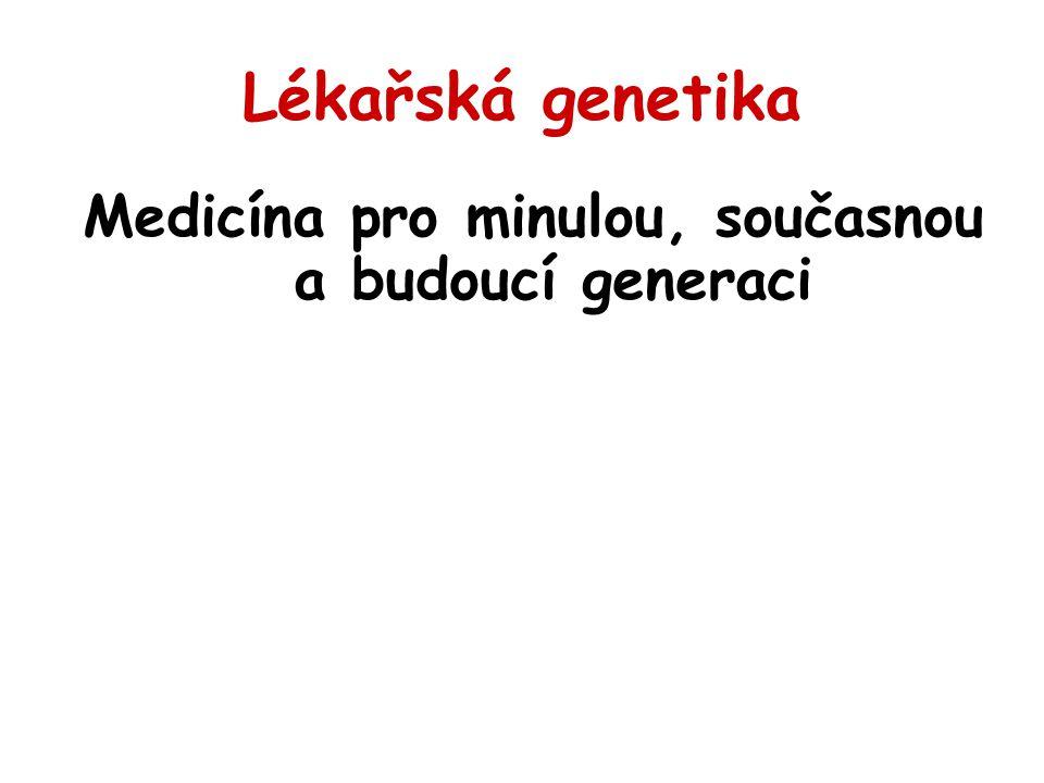 Genetick é pracovi š tě Genetick á poradna - ambulance Laboratoře cytogenetick é (prenat á ln í, postnat á ln í, molekul á rně cytogenetick é, onkocytogenetick é ) Laboratoře DNA/RNA diagnostiky (monogenně podm í něn á onemocněn í, onkogenetika, identifikace jedinců..)