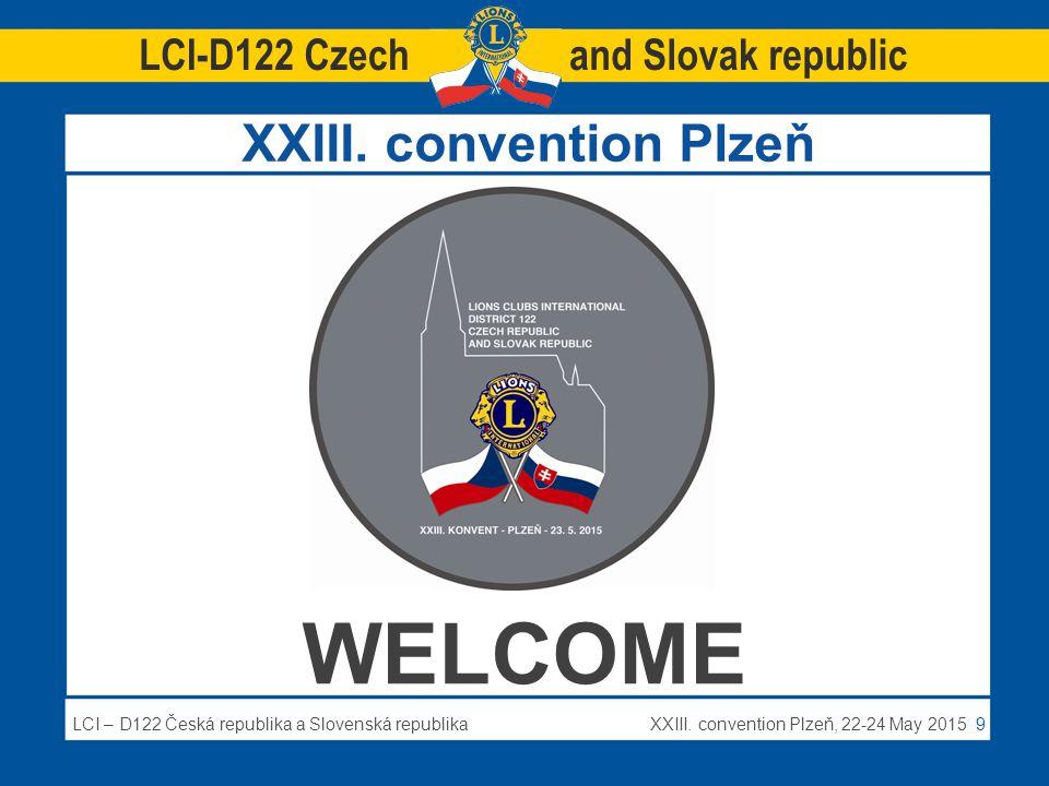 LCI – D122 Česká republika a Slovenská republikaXXIII.