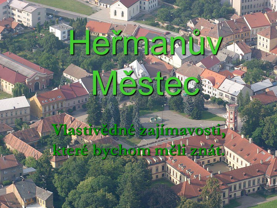 Heřmanův Městec Vlastivědné zajímavosti, které bychom měli znát.