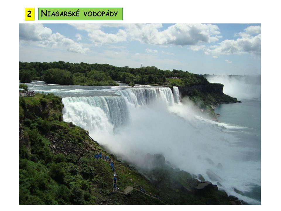 Velká jezera tektonicko - ledovcového původu Hořejší jezero je největším sladkovodním jezerem světa Huronské, Michiganské, Erijské a Ontarijské j.