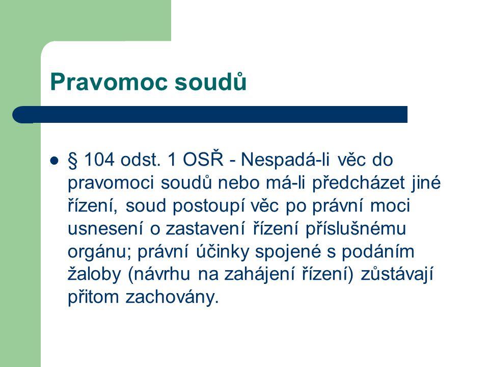 Právnické osoby jako zmocněnci Odborová organizace (§ 26 odst.