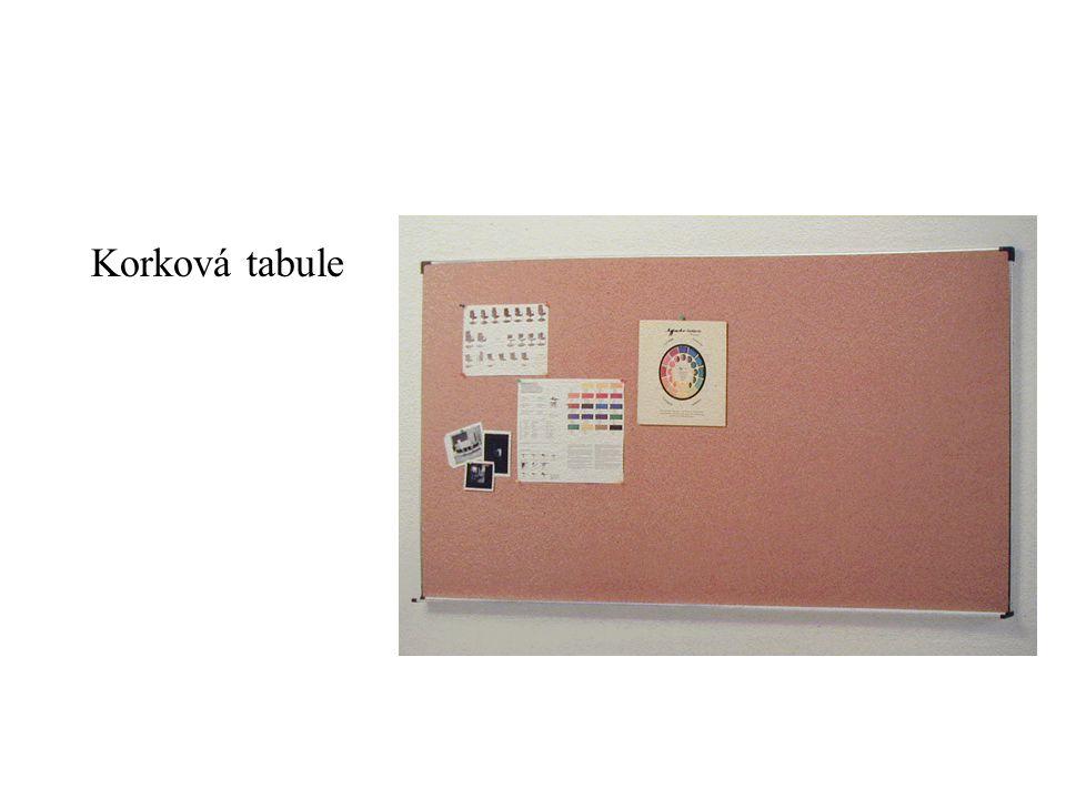 Korková tabule