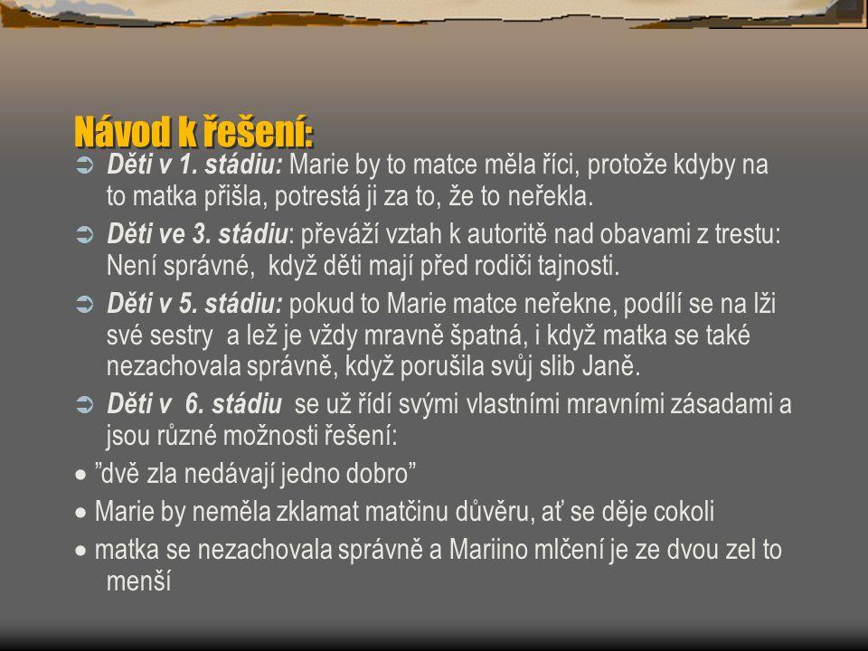 Podle Kotáskové (Vacek 2000, s.