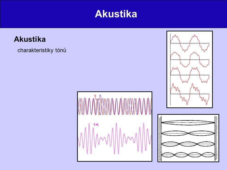Akustika charakteristiky tónů