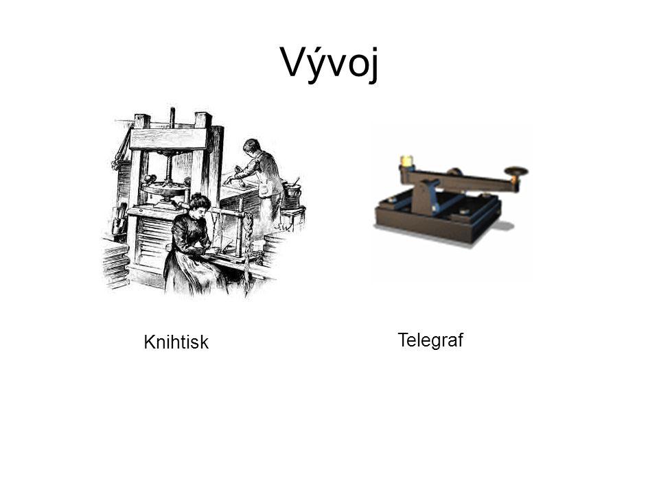 Vývoj Knihtisk Telegraf