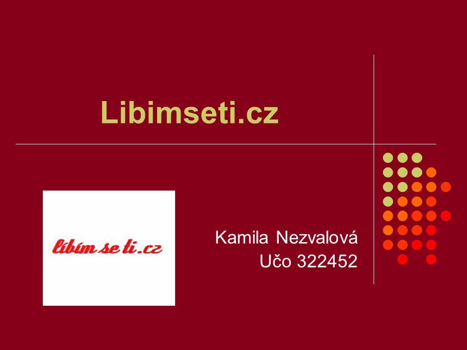 Libimseti.cz Kamila Nezvalová Učo 322452