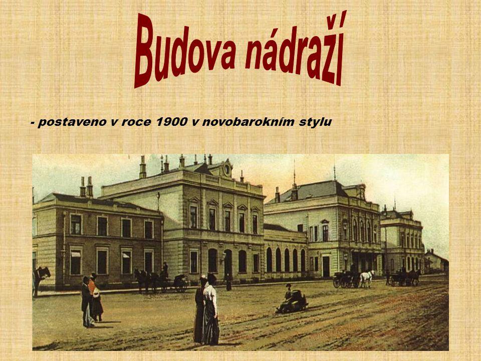 - postaveno v roce 1900 v novobarokním stylu