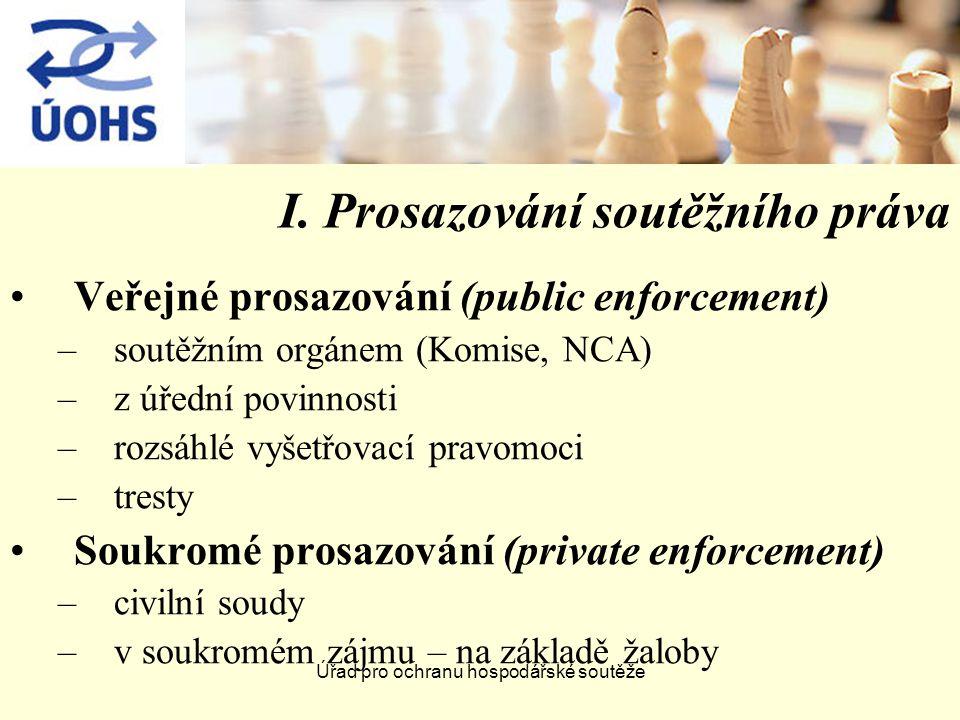 Úřad pro ochranu hospodářské soutěže IV.