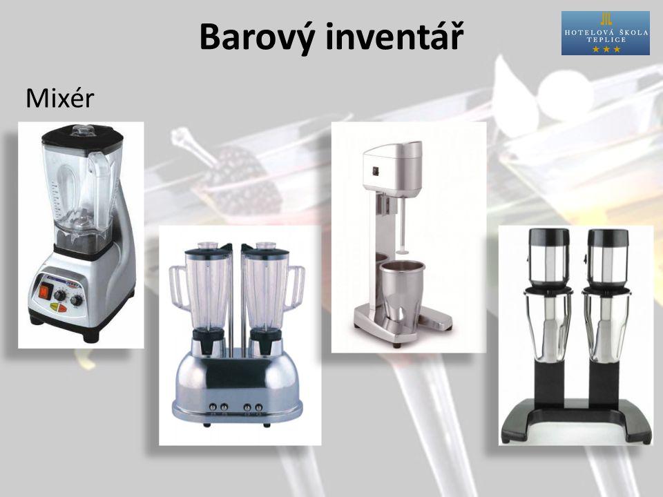 Barový inventář Mixér