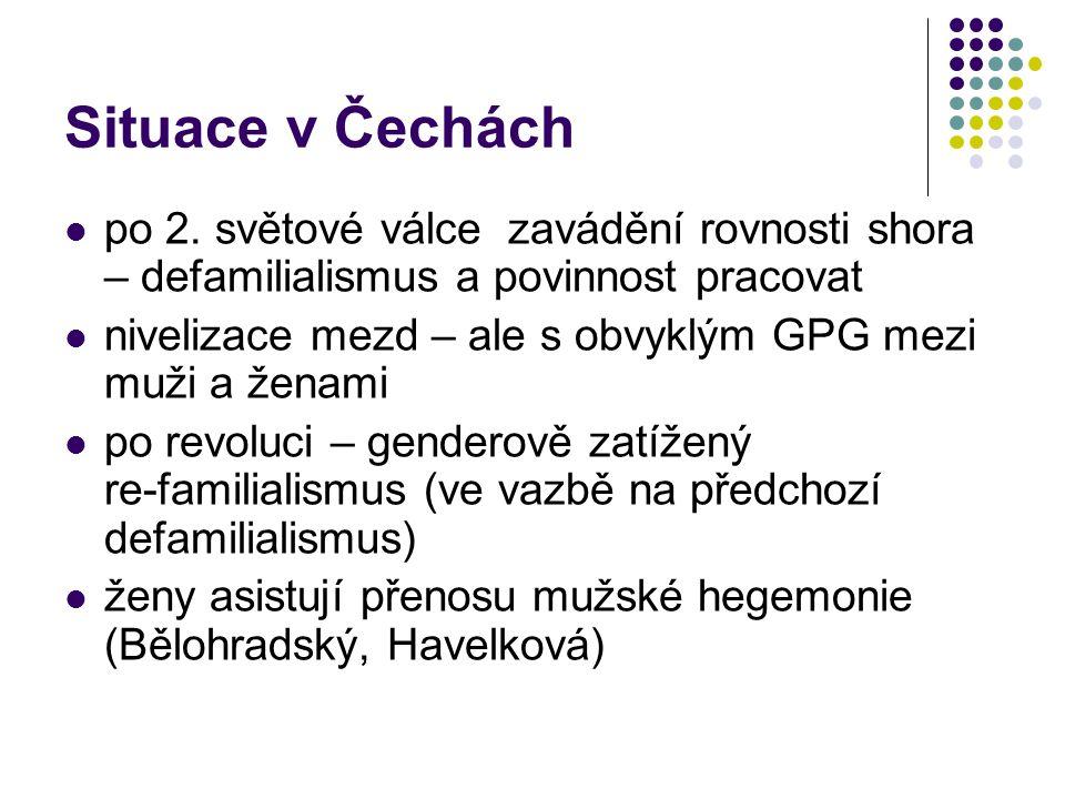 Situace v Čechách po 2.