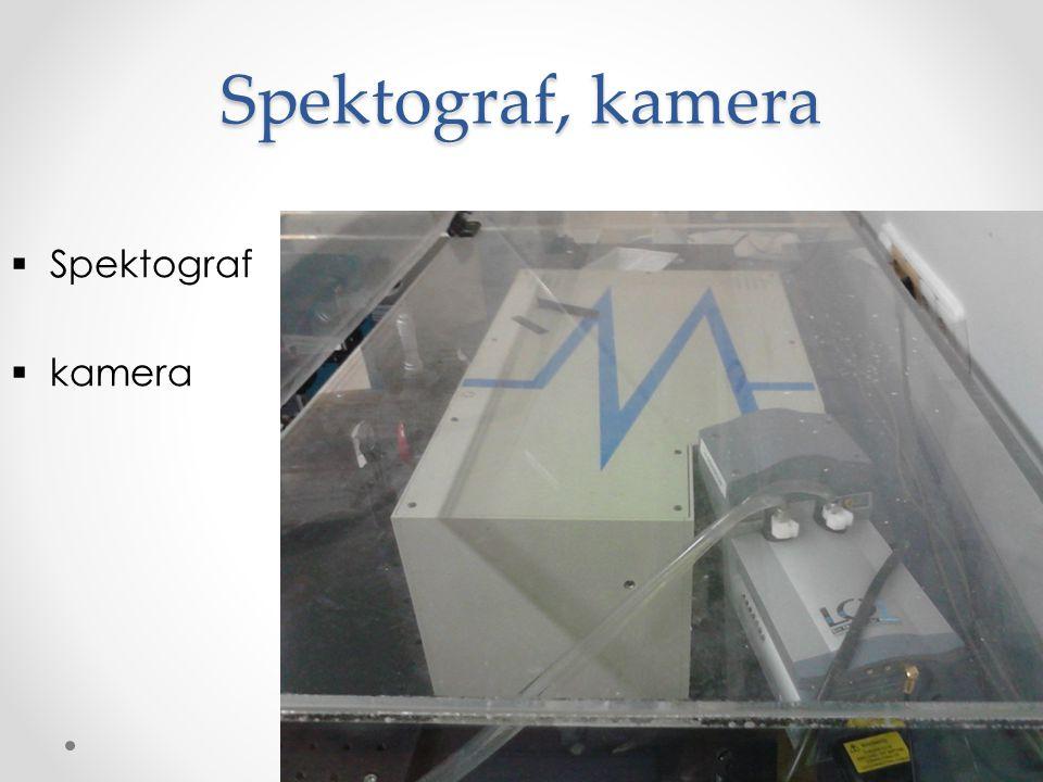 Spektograf, kamera  Spektograf  kamera