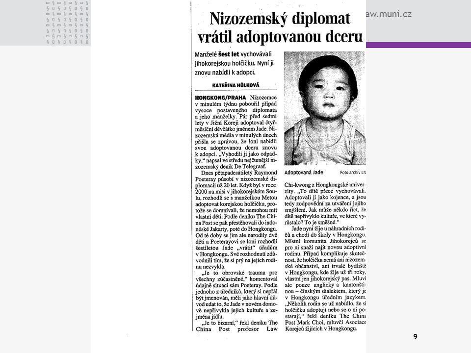 www.law.muni.cz 9