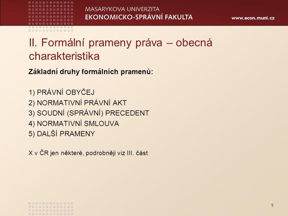 www.econ.muni.cz 5 II.