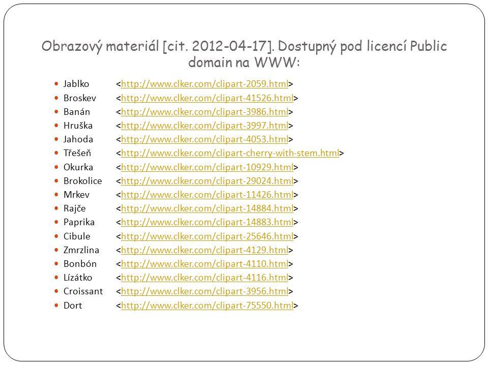 Obrazový materiál [cit.2012-04-17].