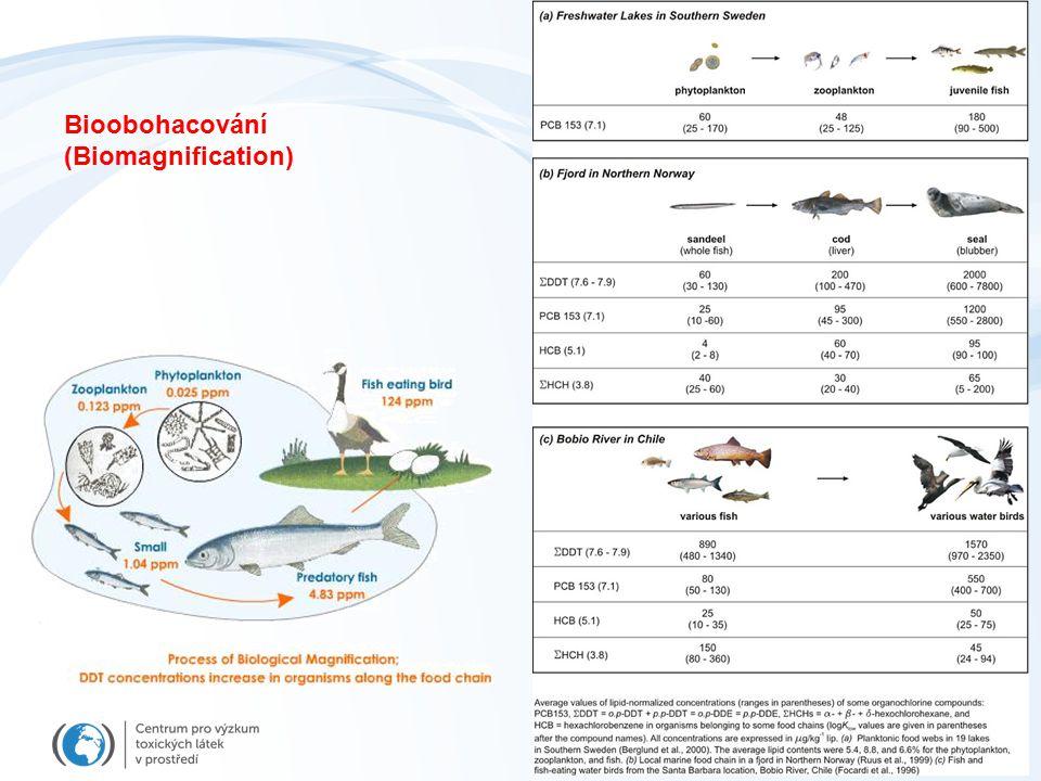 Bioobohacování (Biomagnification)
