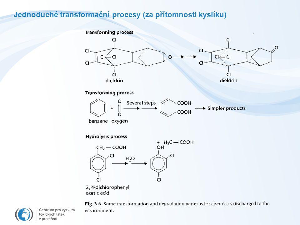 Jednoduché transformační procesy (za přítomnosti kyslíku)