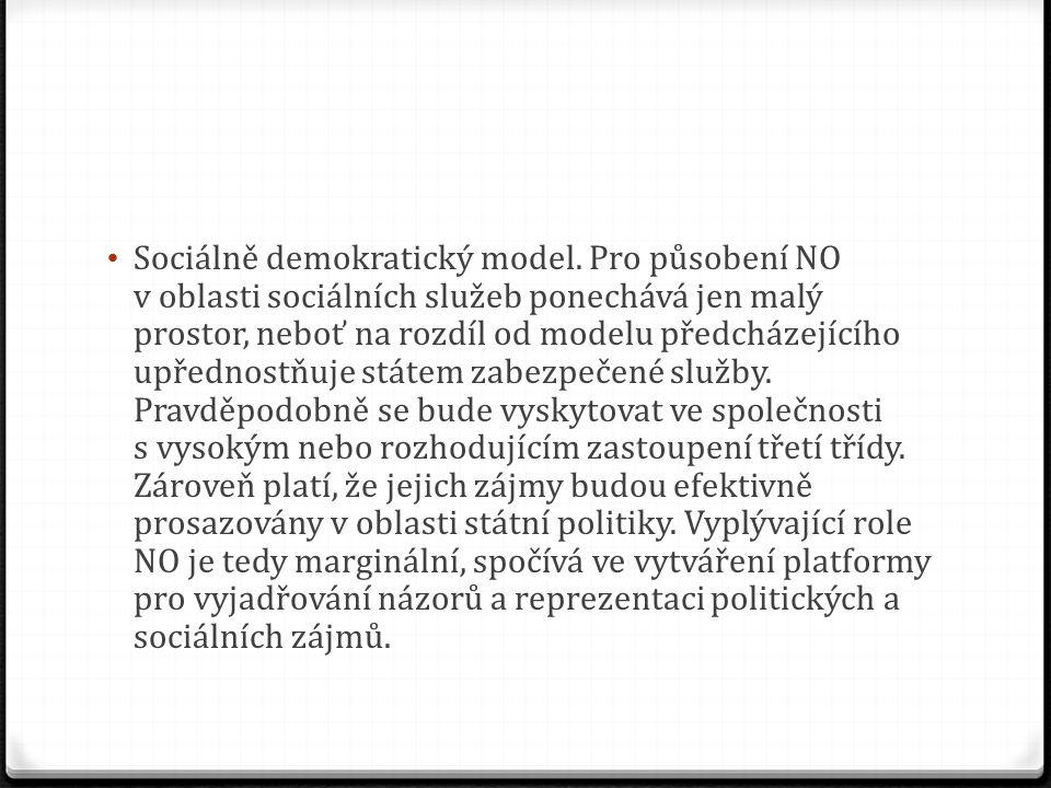 Sociálně demokratický model.