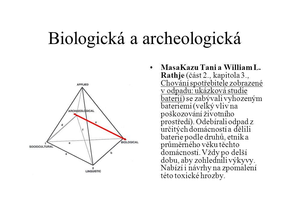 Biologická a archeologická MasaKazu Tani a William L.