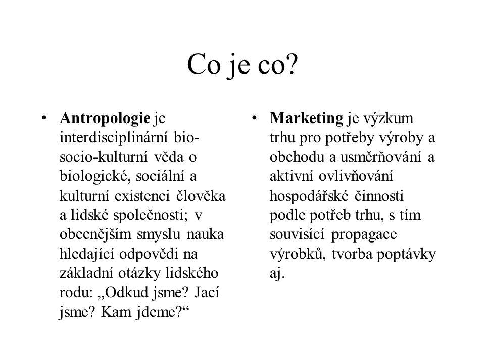 Moderní marketing a chování spotřebitele antropologický návod (sourcebook)