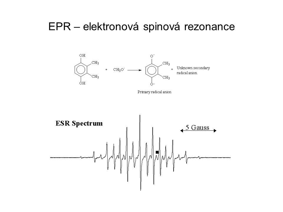 EPR – elektronová spinová rezonance