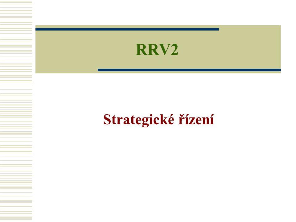 RRV2 Strategické řízení