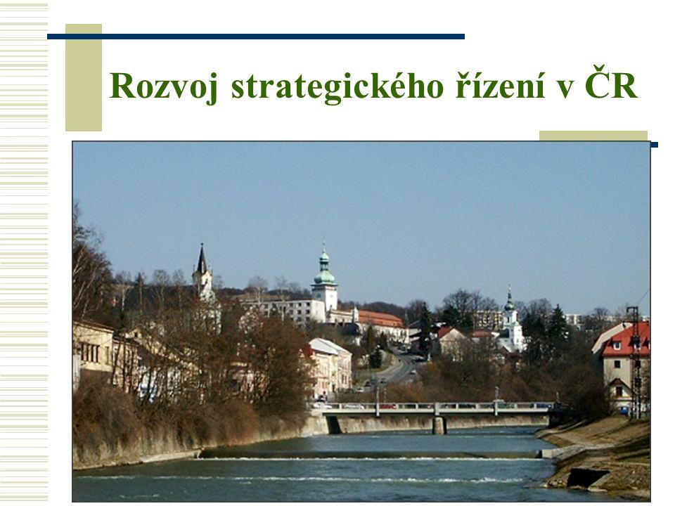 11 Rozvoj strategického řízení v ČR