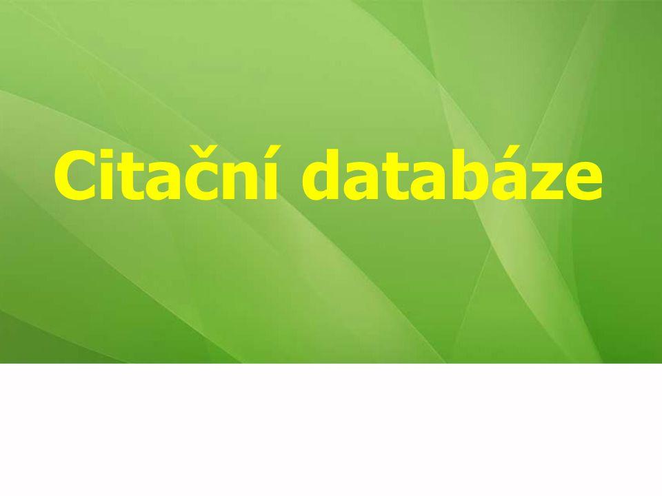 Citační databáze