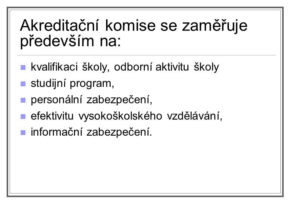 Akreditace (zákon č.