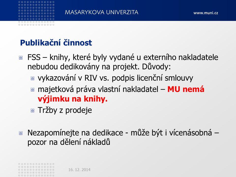 Publikační činnost 16. 12.