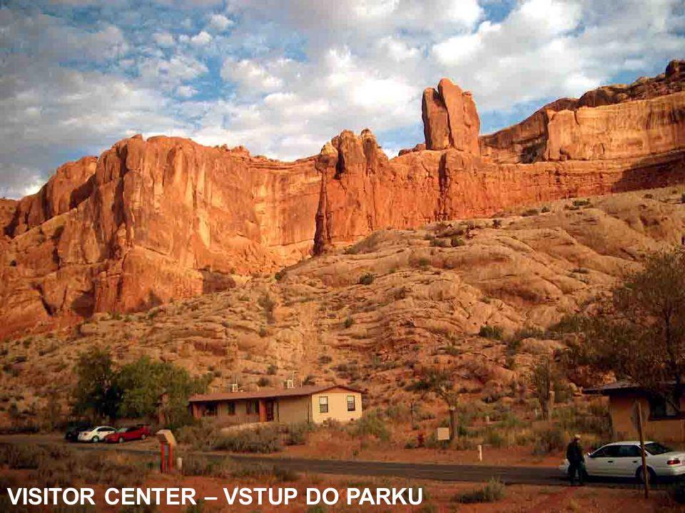VISITOR CENTER – VSTUP DO PARKU