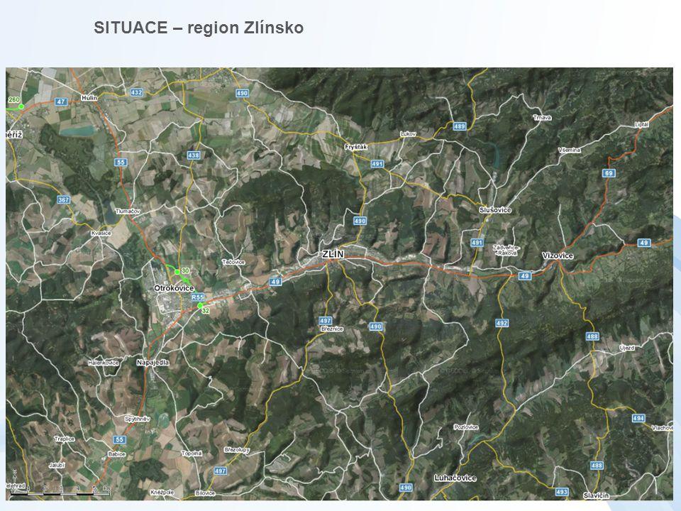 SITUACE – region Zlínsko