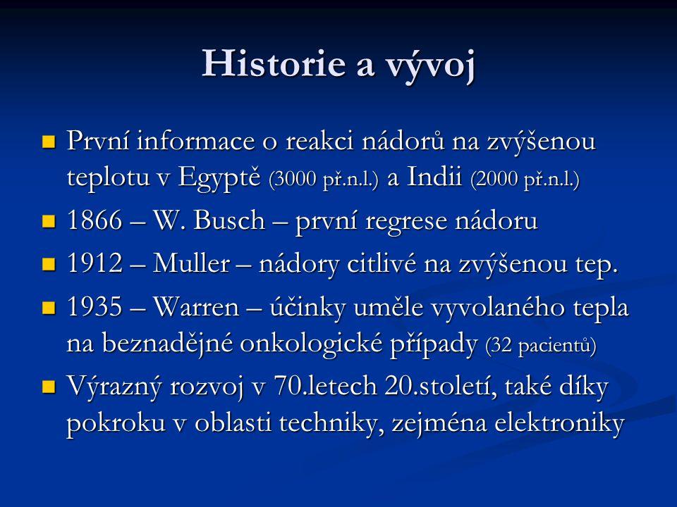 Petr Michalec Biomedic. inženýrství Hypertermie