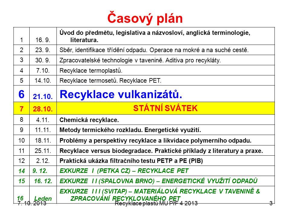 Slovníček na úvod Recyklace VULKANIZÁTŮ 6 2013421.