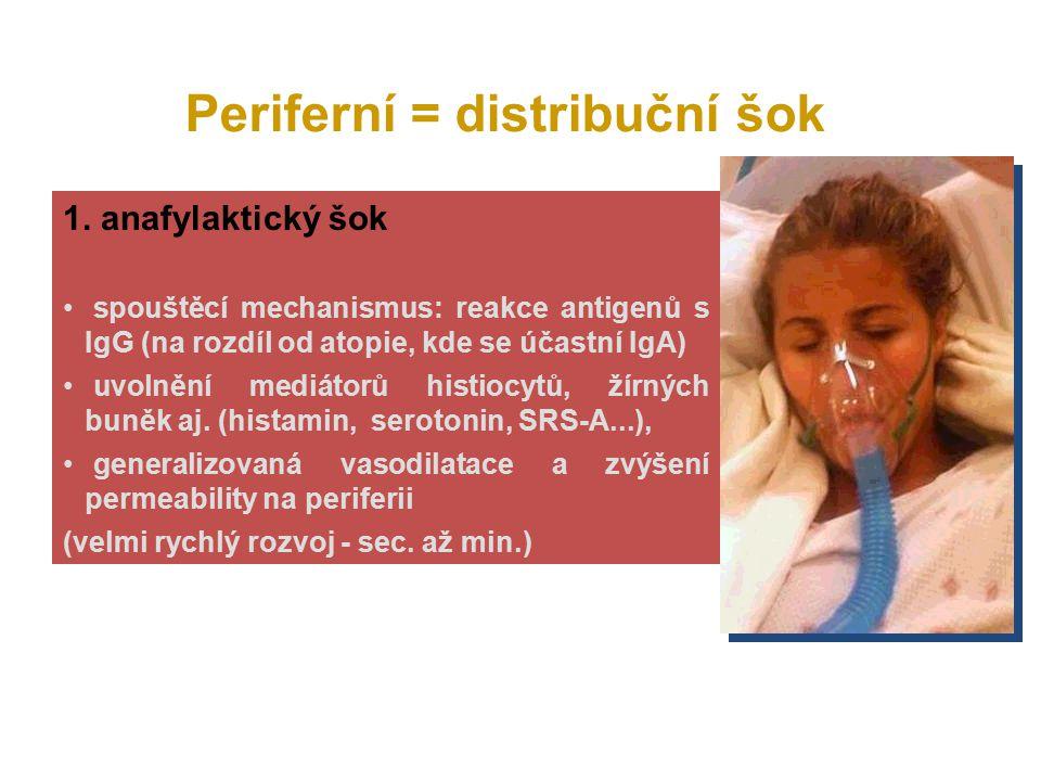 2.septicko/toxický šok doprovází 25% Gram- bakteriémií (Escher.