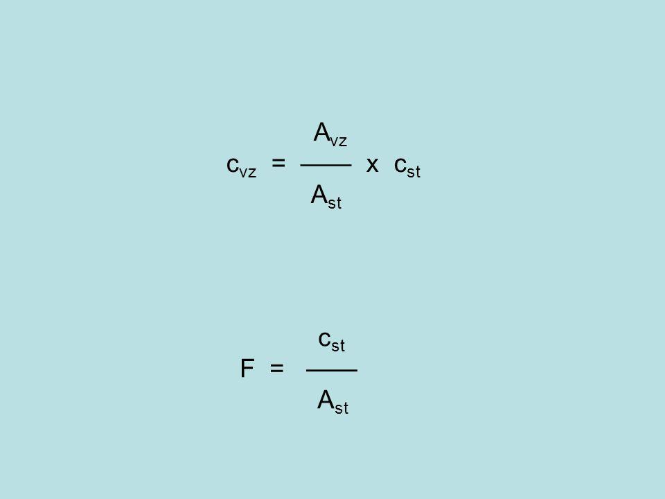 A vz c vz = —— x c st A st c st F = —— A st