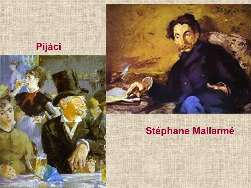 Pijáci Stéphane Mallarmé