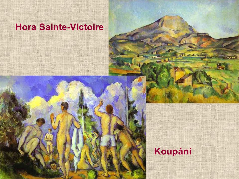 Hora Sainte-Victoire Koupání