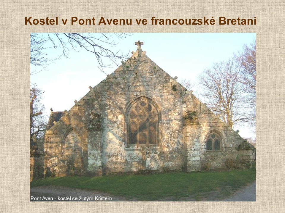 Kostel v Pont Avenu ve francouzské Bretani