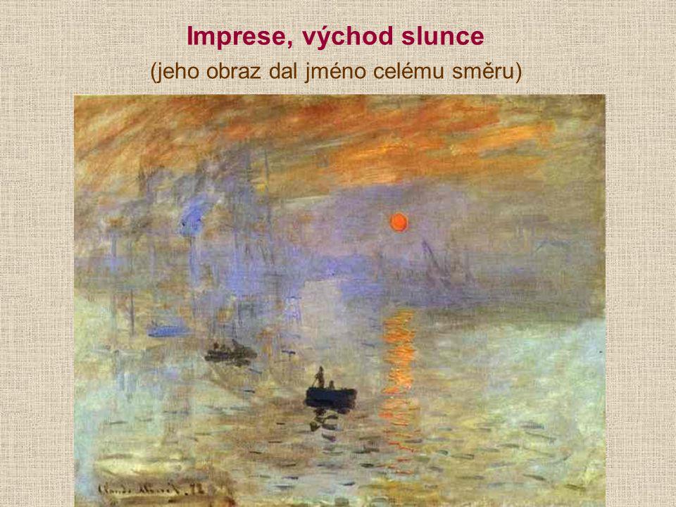Vincent van Gogh [finsent fan choch] se soustředil na výraz, proto je považován za předchůdce expresionismu, nanášel na plátno drobné barevné čárky, někdy i přímo z tuby Autoportrét