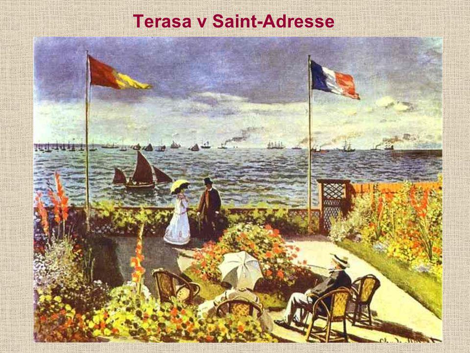 Terasa v Saint-Adresse