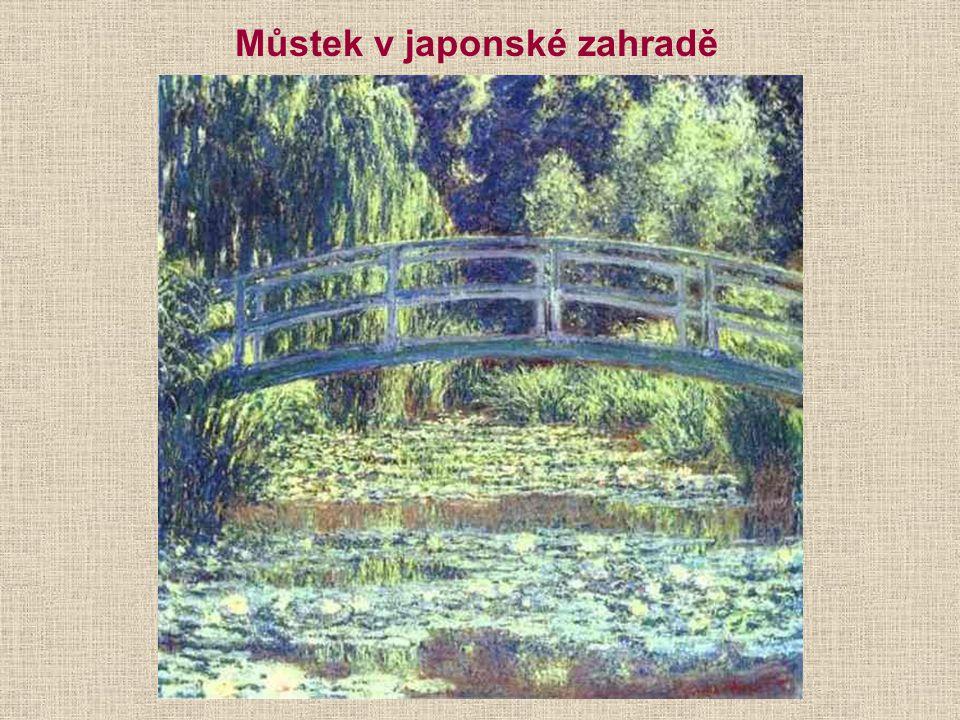 E. Manet: Claude Monet maluje na své lodi