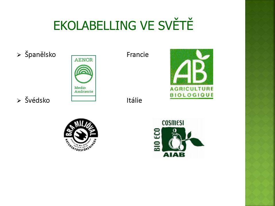  Slovensko  Biopotraviny - EU EKOLABELLING VE SVĚTĚ
