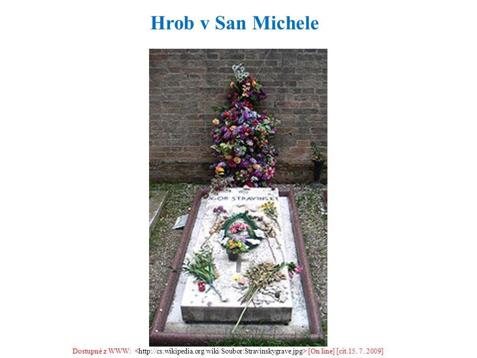 Dostupné z WWW: [On line] [cit.15. 7. 2009] Hrob v San Michele