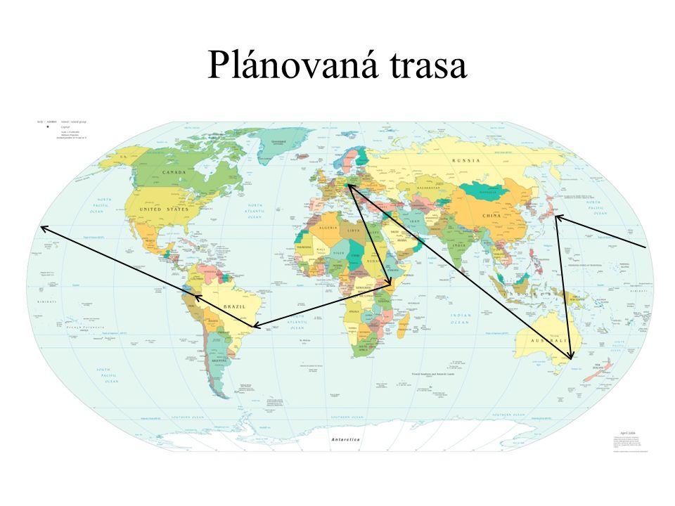 Plánovaná trasa