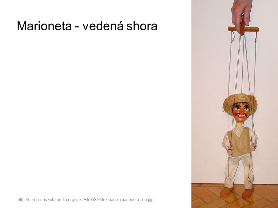 http://commons.wikimedia.org/wiki/File%3AMexicano_marioneta_lou.jpg Marioneta - vedená shora