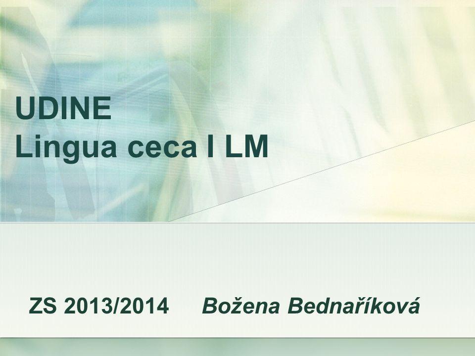 Přehled – druhy predikátu viz soubor ve Wordu na http://lingua-ceca.webnode.cz