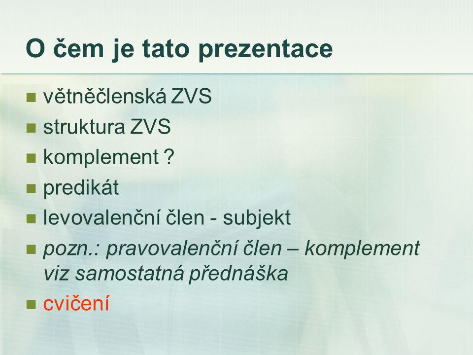 SUBJEKT levovalenční pozice nom.genitiv. - záporový: Nejsou další otázky.